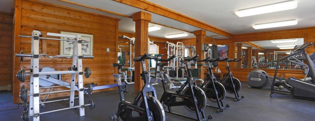 Blue Sky Lofts Apartments fitness room