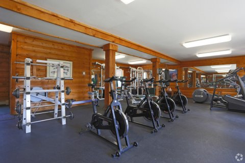Blue Sky Lofts Apartments fitness room