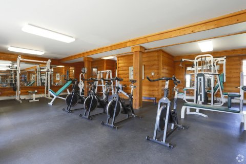 Fitness center at Blue Sky Lofts Apartments